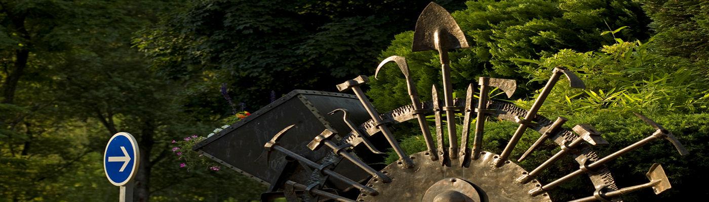 Monument mines de fer