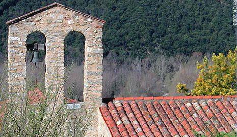 L'église Sainte Croix d'Arles sur Tech